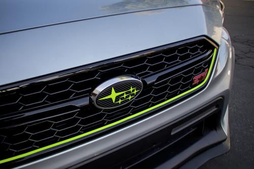 Acid Green Grille Pinstripe Kit   2018-2020 Subaru WRX / STI