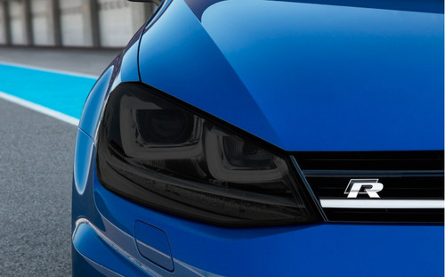 Smoked Headlight Tint Overlays (2015-2017 Golf & GTI)