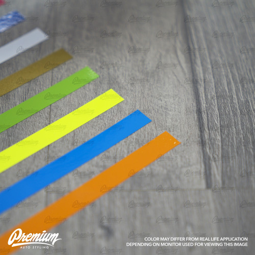 Universal Pinstripe Kit ( Multiple Colors Available ) 40 inch Pinstripes | Set of 4