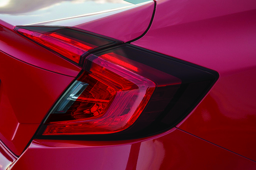 Tail Light Red Tint Insert Overlays | 2016-2020 Honda Civic Sedan