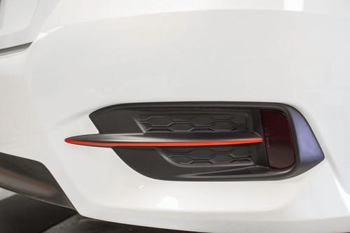 Rear Bumper Pinstripe Kit (Choose Your Color) | 2016-2017 Honda Civic Sedan