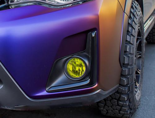 Fog Light Tint Overlay - Rally Yellow/Smoke | 2012-2017 Subaru Crosstrek XV / Impreza