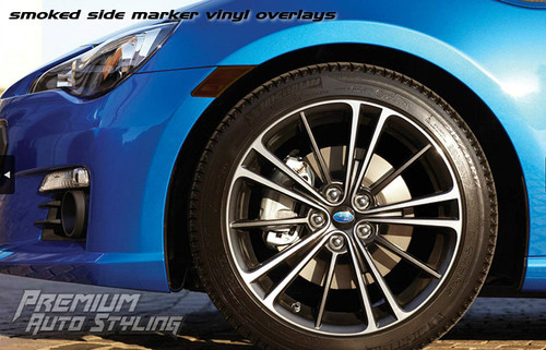 Front Side Marker Reflector Overlay - Smoke Tint | 2013-2020 Toyota GT86