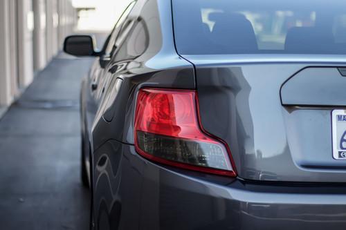 Tail Light Overlay - Smoke Tint Insert | 2011-2013 Scion TC