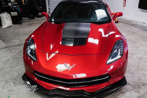 Heritage Style Hood Vinyl Overlay (2014-2018 C7 Corvette)