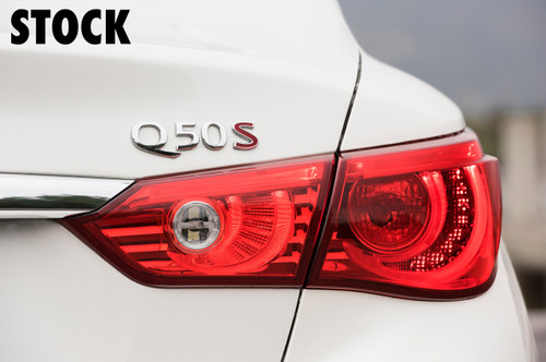 Tail Light Red Tint Overlays | 2014-2017 Infiniti Q50