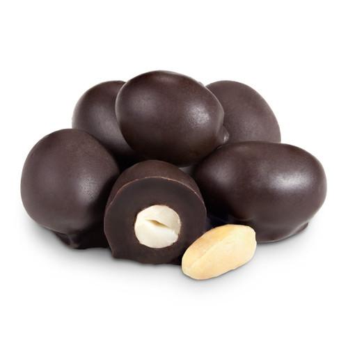 Dark Chocolate Double Dipped Peanuts - 8 OZ