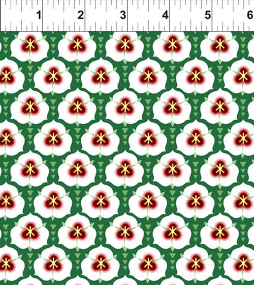ART DECO UTAH STATE FLOWER FABRIC