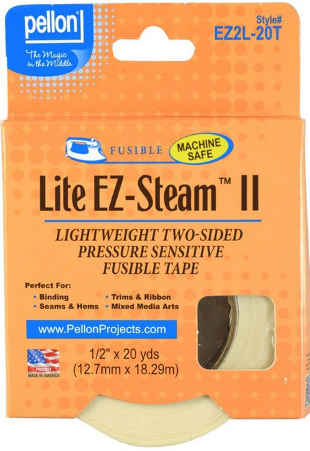 """EZ Steam II Lite Tape 1/2"""" x 20 yards"""