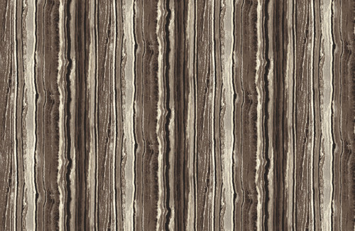 STONEHENGE BROWNS, BLACK AND GRAY MARBLED STRIPE FABRIC