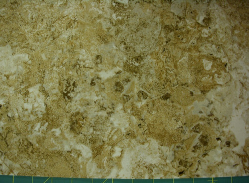 STONEHENGE BROWN, GOLD AND BEIGE MARBLE FABRIC
