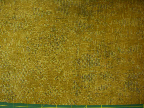 STONEHENGE GOLD AND BLACK TEXTURED-LOOK FABRIC