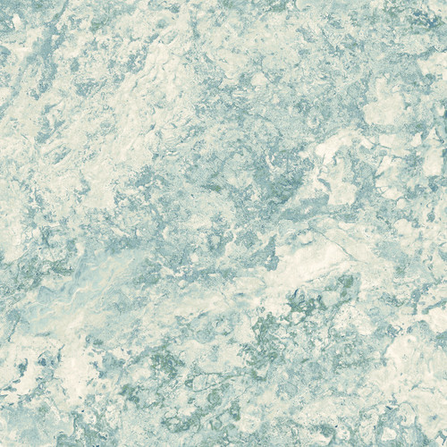 STONEHENGE WHITE AND LIGHT BLUE MARBLE FABRIC