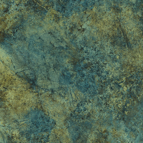 STONEHENGE BLUE AND TAN CRACKLED MARBLE FABRIC