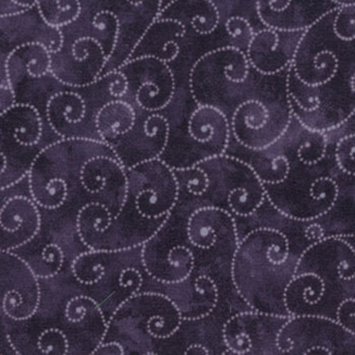 MARBLE SWIRLS FABRIC - PURPLE