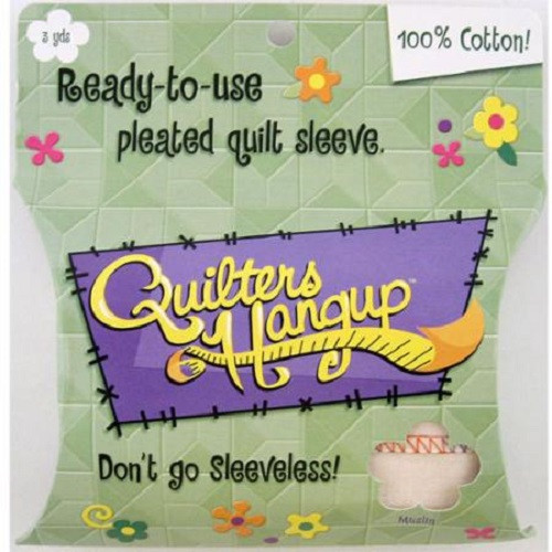 QUILTERS HANGUP READY TO USE QUILT SLEEVE