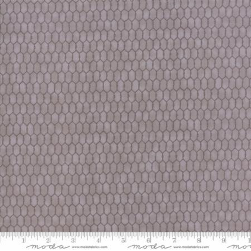 SMALL CHICKEN WIRE FABRIC - BARNYARD GRAY
