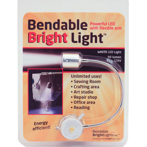 BENDABLE BRIGHT LIGHT-White LED Light with Flexible Arm
