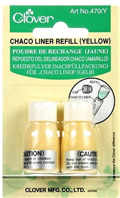 CHACO LINER CHALK REFILL-YELLOW