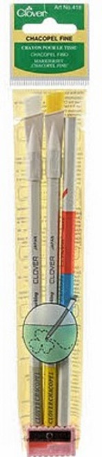CHACOPEL FINE PENCIL ASSORTMENT WITH SHARPENER