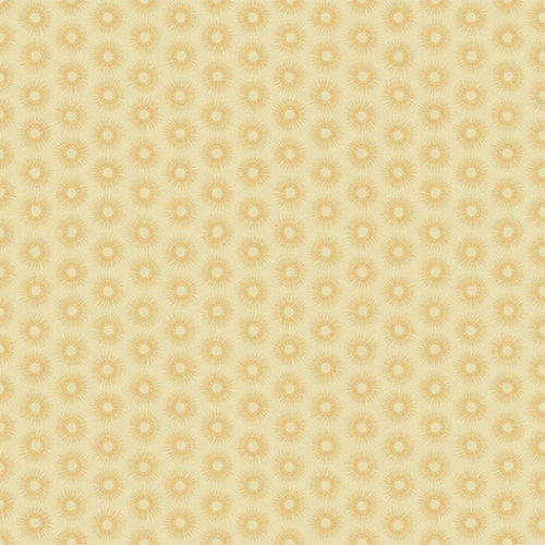 LIGHT TAN DOODLEBURST ON BEIGE FABRIC