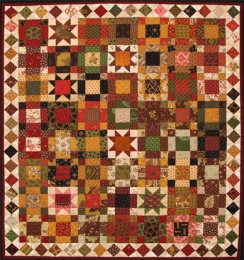 LAURA'S 1870 CRADLE QUILT PATTERN - #1014