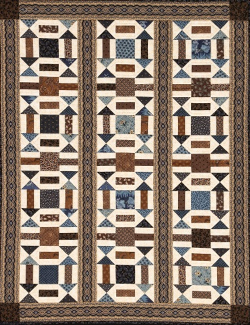 ARROWHEAD SQUARE AND RUNNER QUILT PATTERN