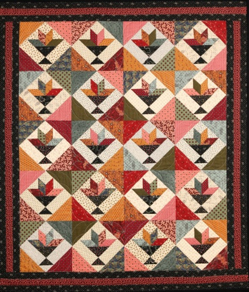CAROLINE AND TOPPER QUILT PATTERN - #1028