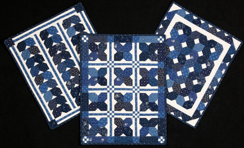 BLUE RIDGE TRIO QUILT PATTERN - #1030