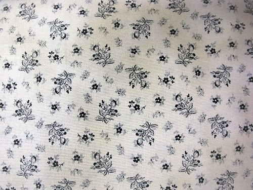 GREEN FLOWERS ON BEIGE FABRIC - 8248-023