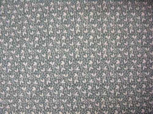 LIGHT GREEN LEAVES AND VINES ON GREEN FABRIC - 8247-023