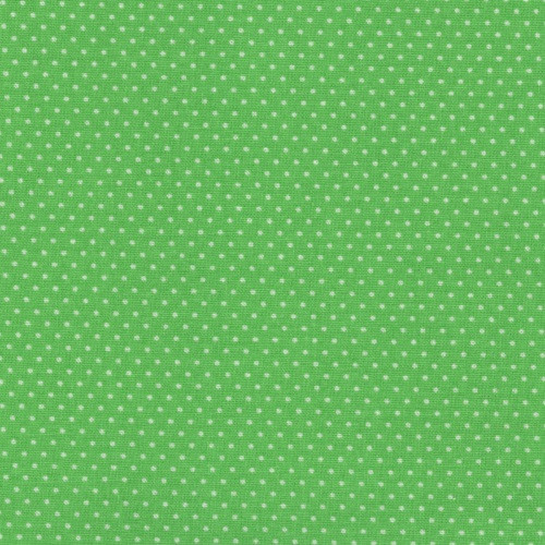 LIME GREEN PIN DOTS FABRIC - 20707-Lime