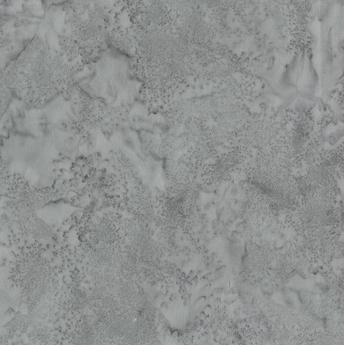ASH GRAY MARBLED BATIK FABRIC