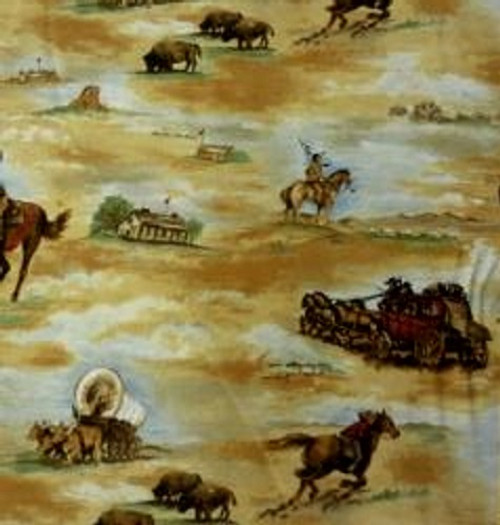 VARIOUS WESTERN SCENES ON TANS - The Essential Cowboy - TRO 1527-BBB