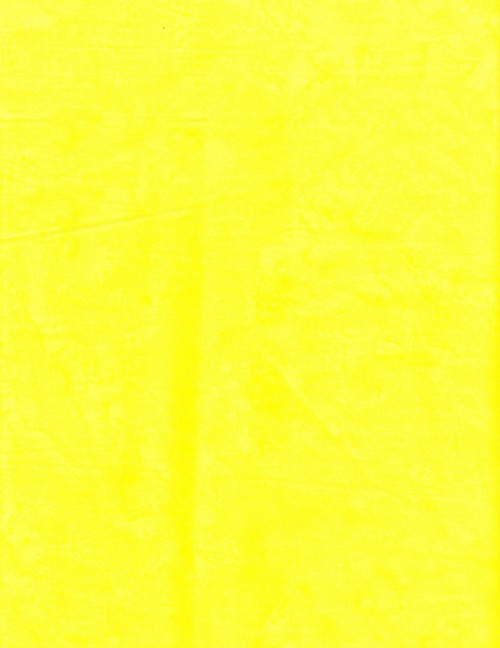 YELLOW MARBLED HAND MADE BATIK FABRIC - BA 1419