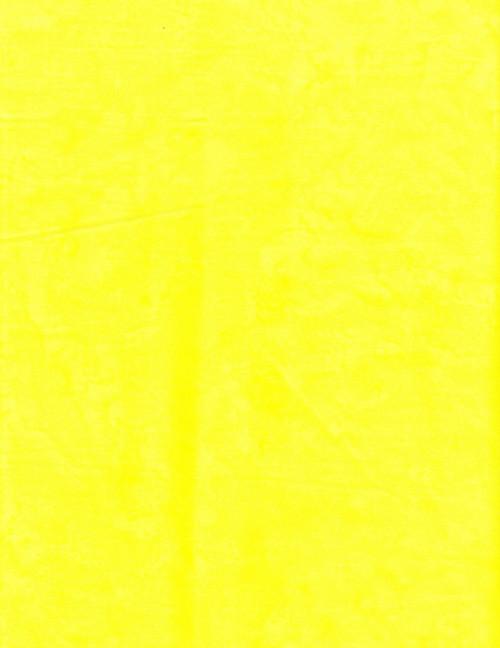 YELLOW MARBLED HAND MADE BATIK FABRIC - BA 1419