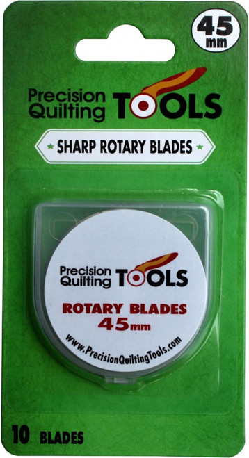 45mm ROTARY CUTTER BLADES, 10 PACK