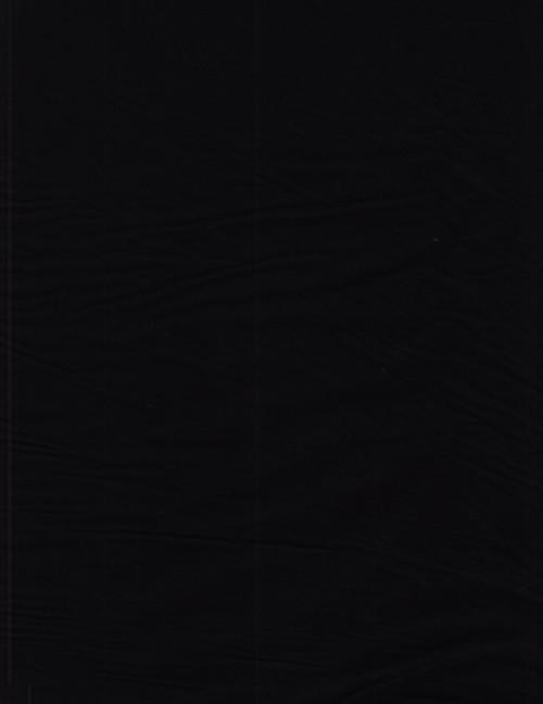 JET BLACK HAND MADE BATIK FABRIC -100Q-1567