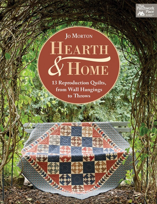 HEARTH AND HOME BOOK - Jo Morton - B1511T
