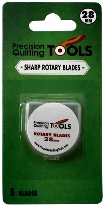 28mm ROTARY CUTTER BLADES, 5 PACK - 28MMBLADE5