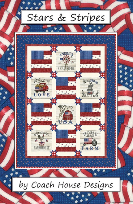 STARS AND STRIPES PATTERN - Front