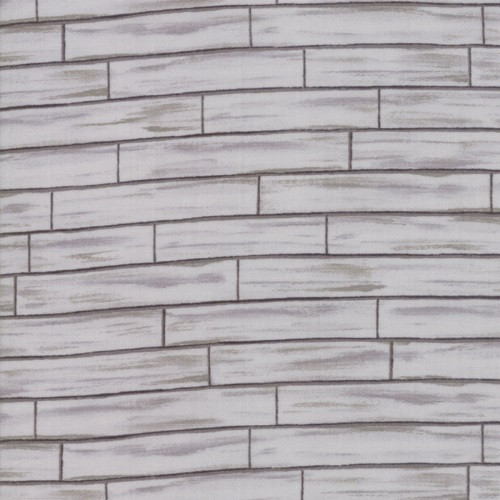 WARM GREY AND DARK GREY BRICKS FABRIC - 19886-14