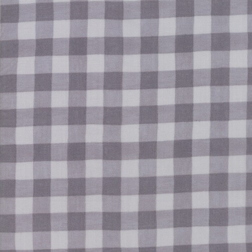 DARK AND LIGHT GREY GINGHAM ON WARM GREY FABRIC - 19887-16