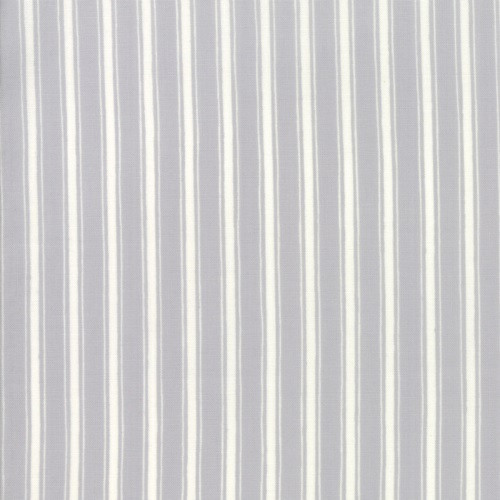 WARM GREY AND WHITE STRIPED FABRIC - 19888-17
