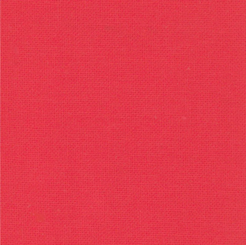 BELLA SOLID RED FABRIC - 9900-123 Betty's Red