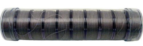 "LIGHT GRAY PRE-WOUND COTTON ""L"" BOBBINS - 10ct - 12958"