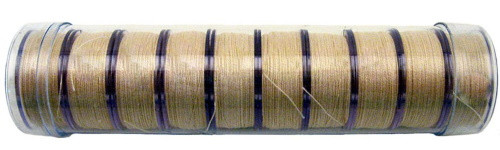 "CREAM PRE-WOUND COTTON ""L"" BOBBINS - 10ct - 12959"