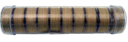 "LIGHT TAN PRE-WOUND COTTON ""L"" BOBBINS - 10ct - 12960"