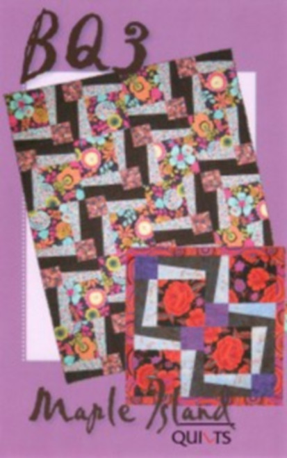 BQ3 QUILT PATTERN - MAKES MULTIPLE SIZES - MIQ233