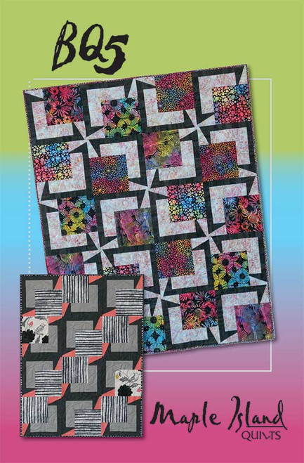 BQ5 QUILT PATTERN - MAKES MULTIPLE SIZES - MIQ825